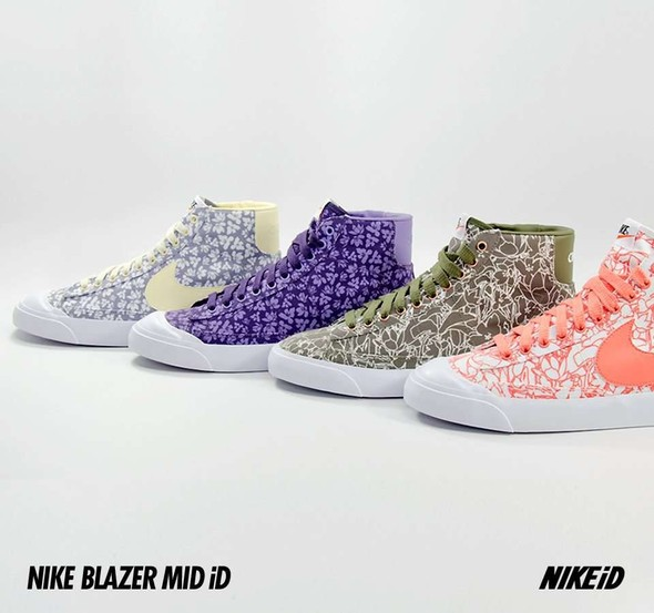 Nike X Liberty Summer Collection/  Blazer Mid iD.. Изображение № 18.