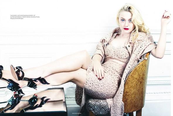 Съёмка: Дакота Фэннинг для Elle. Изображение № 6.