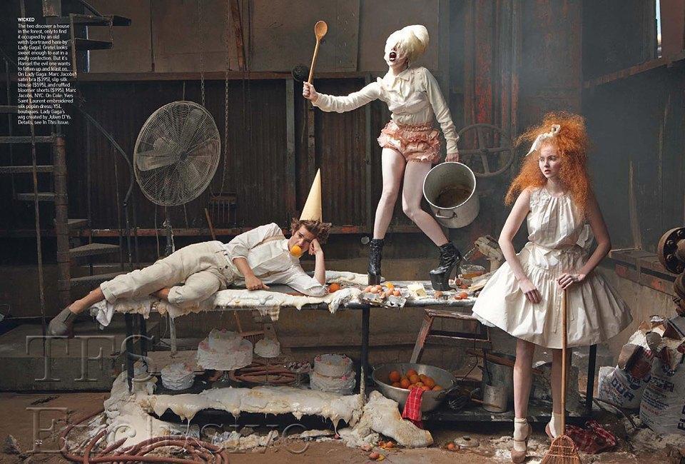 съемки, стилизованные Грейс Коддингтон. Изображение № 4.