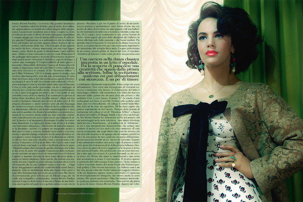Съёмки: Interview, Harper's Bazaar, V и другие. Изображение № 28.