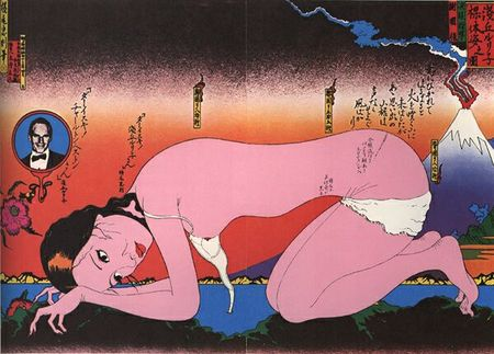Блистательный японский график 70-х Tadanori Yokoo. Изображение № 13.