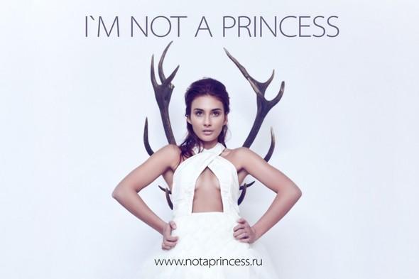 NOT A PRINCESS - новый бренд, дизайнерские свадебные платья. Изображение № 1.