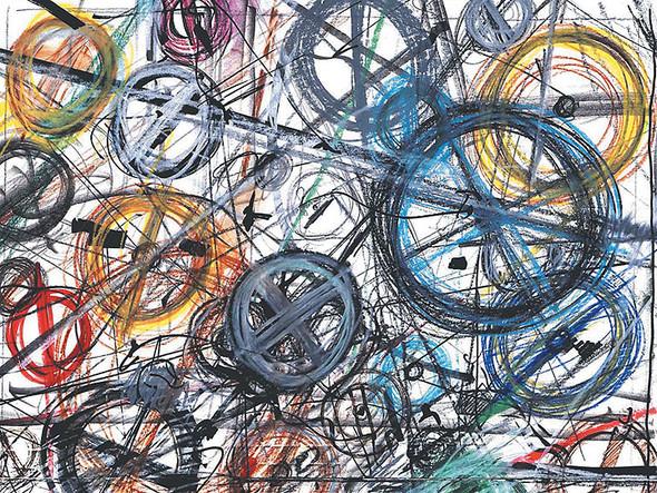 Выставка современного искусства «ВСТРЕЧА ДВУХ МИРОВ: Из коллекции Renault ART». Изображение № 4.