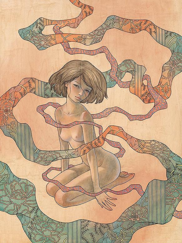Новые работы Audrey Kawasaki. Изображение № 2.