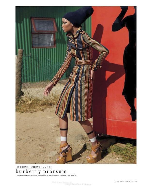 Съёмка: Шанель Иман для L'Officiel. Изображение № 8.