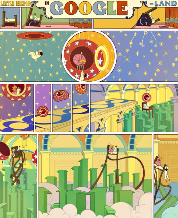Google отметил 107-летие комикса «Маленький Немо». Изображение № 1.
