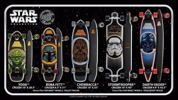 Santa Cruz представила рекламу скейтбордов Star Wars. Изображение № 2.