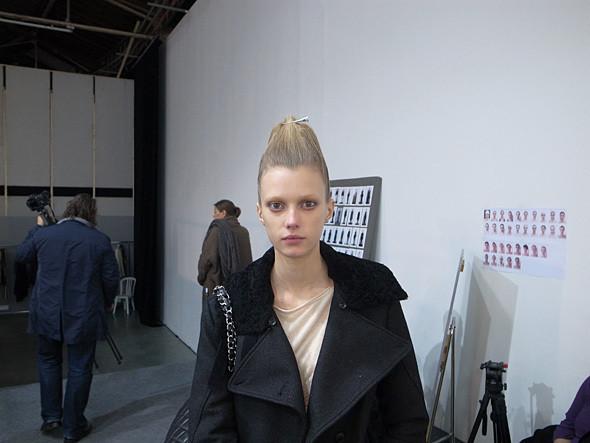Изображение 6. Paris Fashion Week: два бэкстейджа.. Изображение № 8.