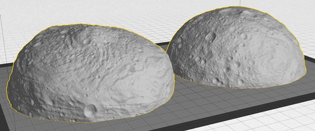 Две стороны астероида Веста. Изображение № 7.