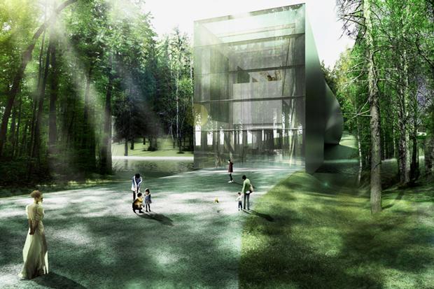 Архитектура дня: «перекрученный» музей авторства BIG под Осло. Изображение № 5.