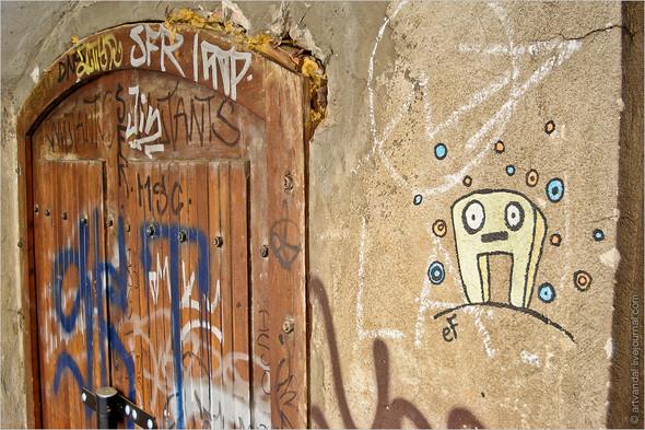 Стрит-арт и граффити Братиславы, Словакия. Изображение № 4.