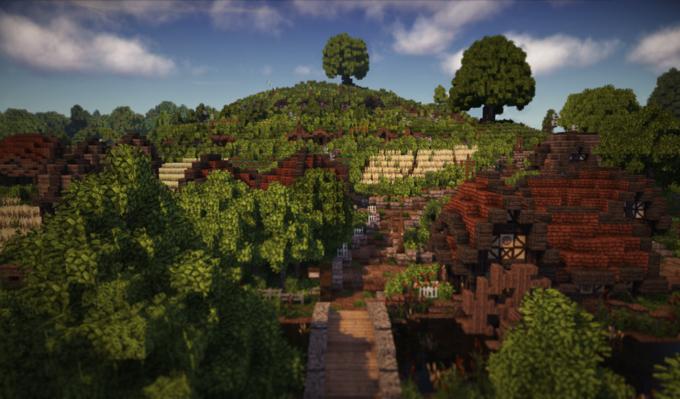 В Minecraft собрали Шир из «Властелина Колец» . Изображение № 9.