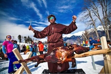 Rosa Khutor Snow Camp от Quiksilver - главный снежный лагерь страны!. Изображение № 7.