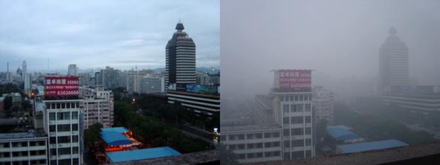 Пекин после осадков и до. Изображение № 1.