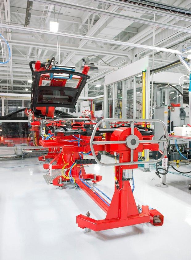 Как создаются электромобили Tesla. Изображение № 11.