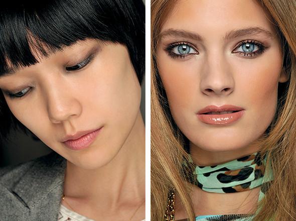 Изображение 1. Красная стрела: тенденции макияжа SS 2011.. Изображение № 11.