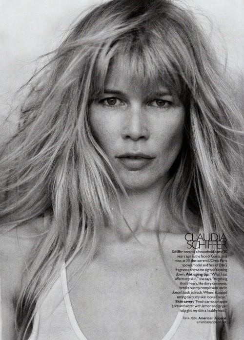 Harper Bazaar USпоказал фотомоделей безмакияжа. Изображение № 11.
