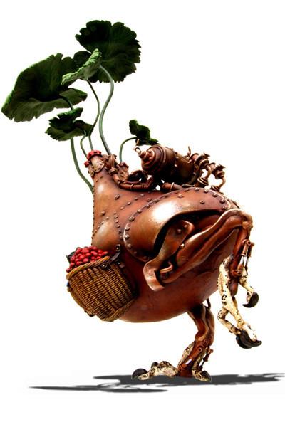Фантастические скульптуры животных Мишихиро Матсуока. Изображение № 5.