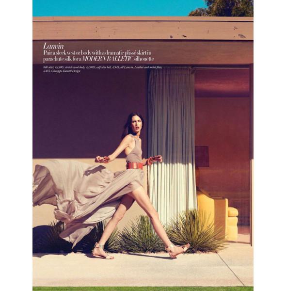 Изображение 5. Съемки: Harper's Bazaar, Metal, V и Vogue.. Изображение № 5.