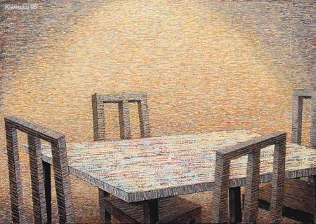 Куаныш Базаргалиев. Столы истулья. Изображение № 2.