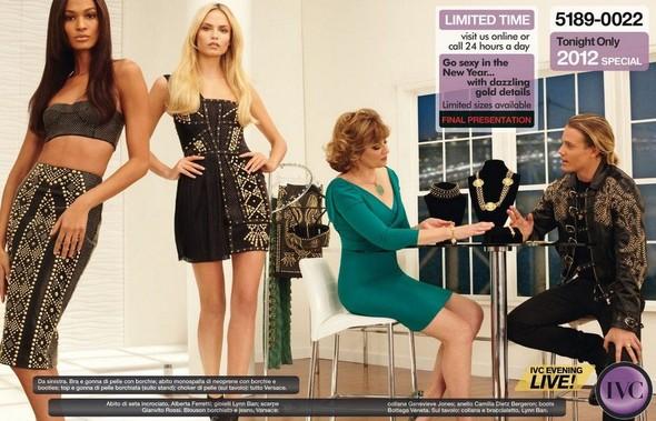 Съёмка: Дарья Строкоус, Карли Клосс, Наташа Поли и другие для итальянского Vogue. Изображение № 6.