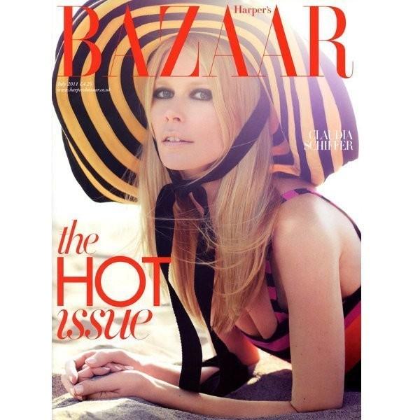 Изображение 2. Обложки: Harper's Bazaar, V и другие.. Изображение № 3.
