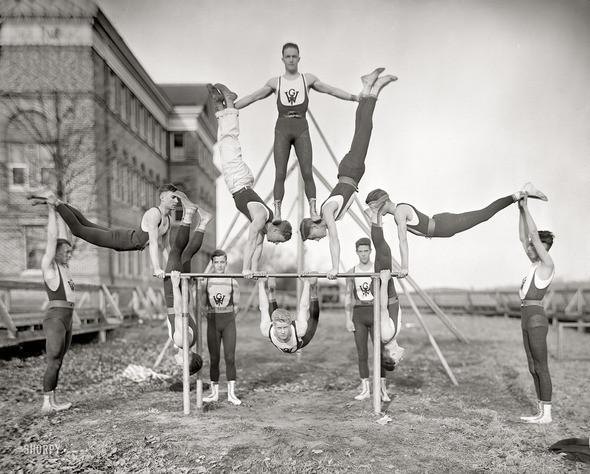 Изображение 29. Sports in USA 1899-1937 years.. Изображение № 29.