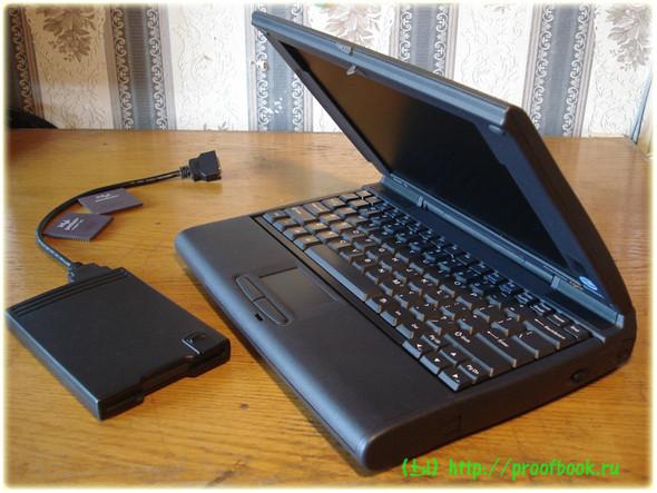 Ретро: Обзор ноутбука AcerNote Light 370DX 1996года. Изображение № 3.