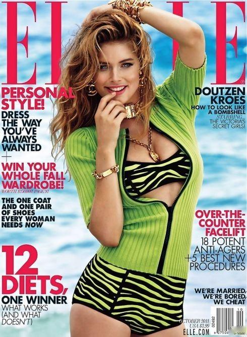 Четыре обложки американского Elle. Изображение № 3.