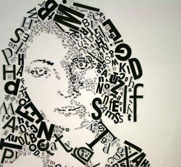 Портреты в типографике. Изображение № 34.