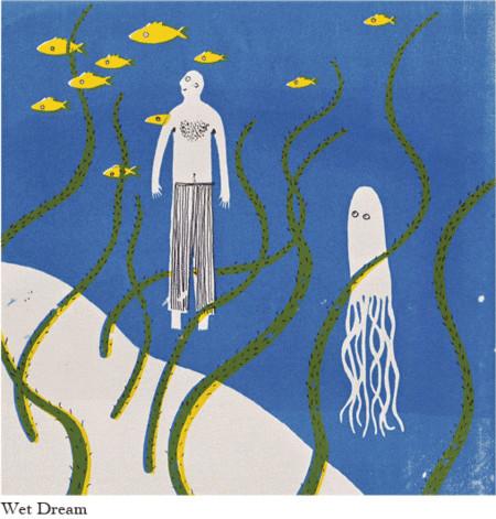 Sarah Knight иллюстратор изHonest Four. Изображение № 8.