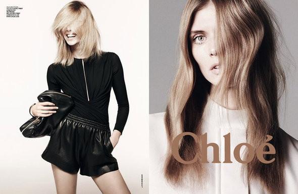 Изображение 5. Рекламные кампании: Chloe, Jean Paul Gaultier, Michael Kors и Versace.. Изображение № 5.