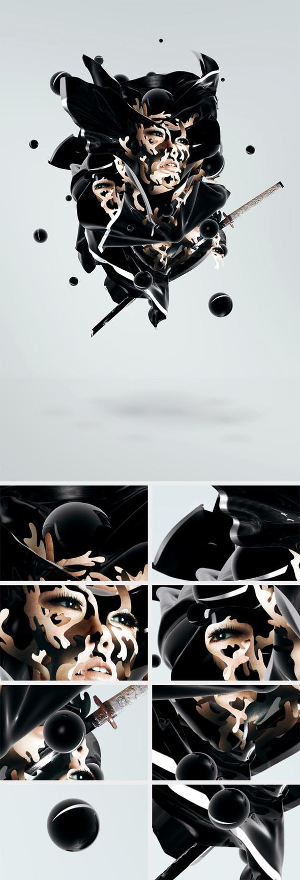 Секреты графического дизайна от художника TRUST IN ELEMENTS. Изображение № 8.