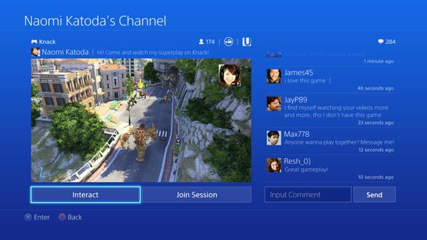 Выложены изображения и видео интерфейса PS4. Изображение № 2.