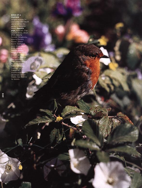 Архивная съёмка: Тим Уокер для Harper's Bazaar, 2000. Изображение № 13.