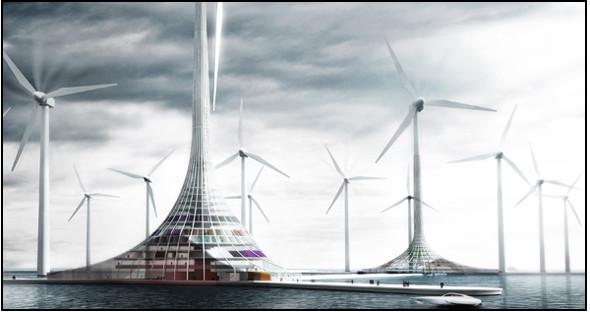 Сила ветра - наше зелёное будущее. Изображение № 1.