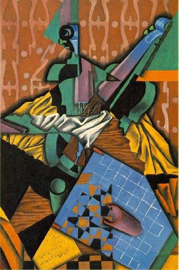 «Виолончель и шахматная доска» Хуана Гриса. Изображение № 11.