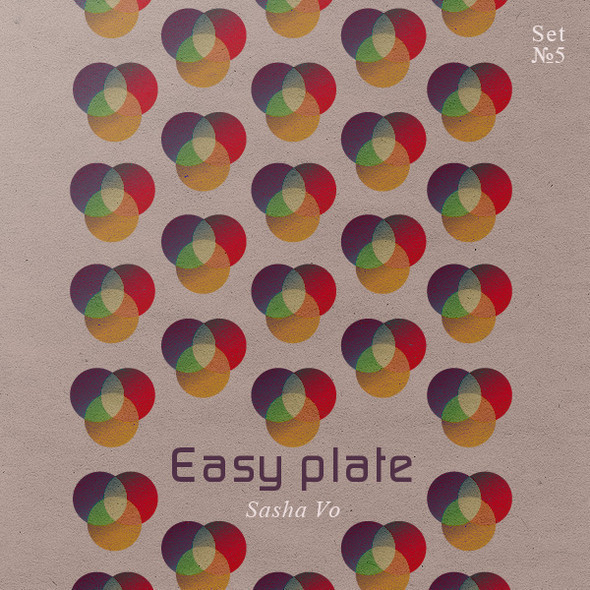 Easy plate. Mix by Sasha Vo. Изображение № 1.
