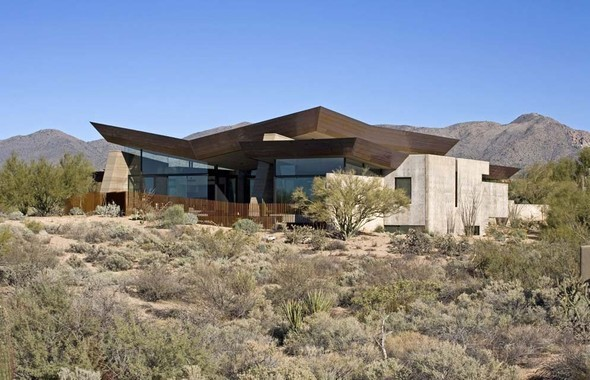Дом Desert Wing от Brent Kendle. Изображение № 1.