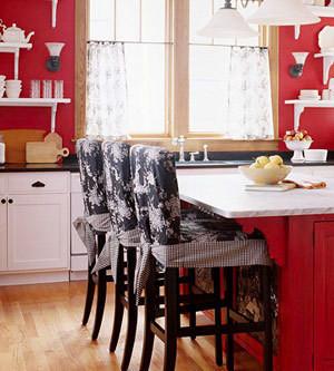 Изображение 3. Модный красный или яркое решение для кухни.. Изображение № 6.