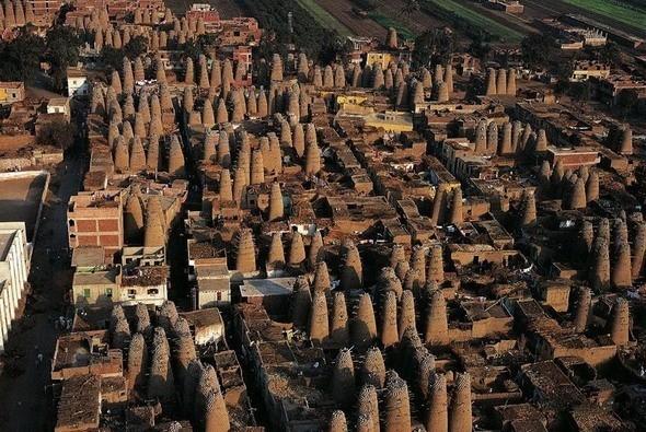 Голубятни в Мит-Гамре, Египет. Голубей там разводят на мясо.. Изображение № 32.