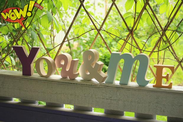 Буквы в интерьере. Изображение № 1.