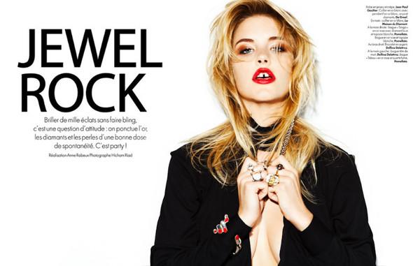 Съёмка: Эшли Смит для Elle. Изображение № 1.