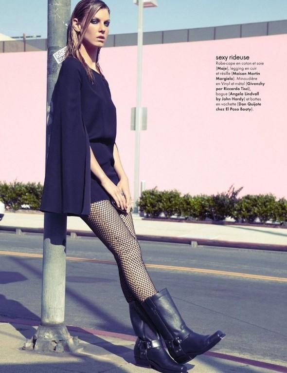 Съемка: Анджела Линдвалл для французского Elle. Изображение № 13.