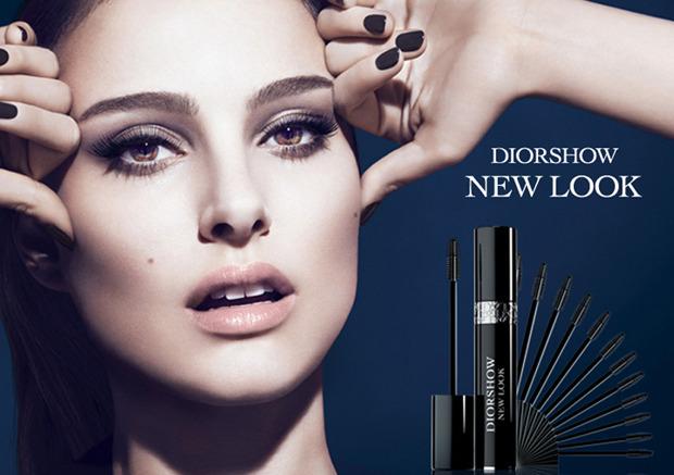 В Британии запретили рекламу туши Dior c Натали Портман. Изображение №1.