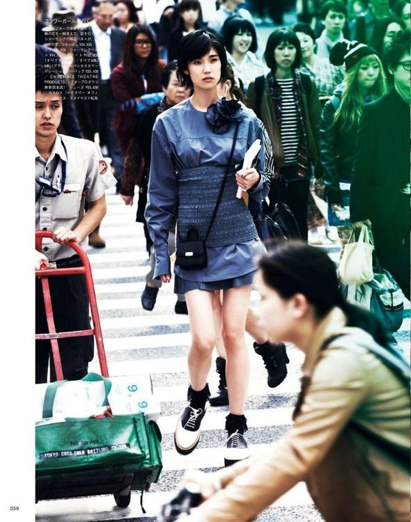 Съёмка: Тао Окамото для Vogue. Изображение № 6.