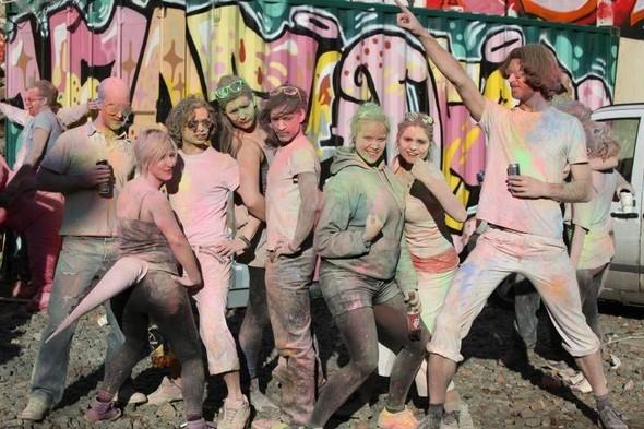 Красочные бои/ Paint Fight/London. Изображение № 5.