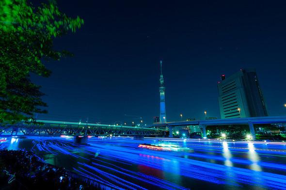 Огни большого города: 100 000 ламп-светлячков на фестивале Хотару. Изображение № 6.