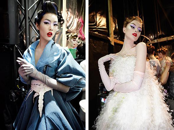 Изображение 4. Репортаж с бэкстейджа показа Dior Haute Couture SS 2011.. Изображение № 14.