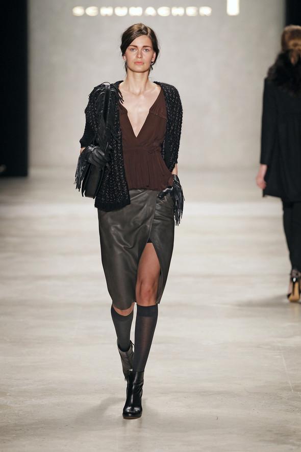 Berlin Fashion Week A/W 2012: Schumacher. Изображение № 45.